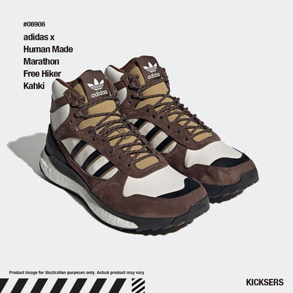 HUMAN MADE Heart Unisex Street Style Collaboration Logo Sneakers