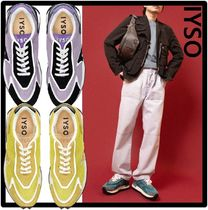 IYSO Casual Style Unisex Street Style Low-Top Sneakers