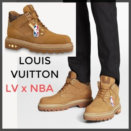 Louis Vuitton MONOGRAM Lvxnba Oberkampf Ankle Boot