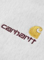 Carhartt Sweatshirts Unisex Sweat Street Style Long Sleeves Plain Cotton Logo 5