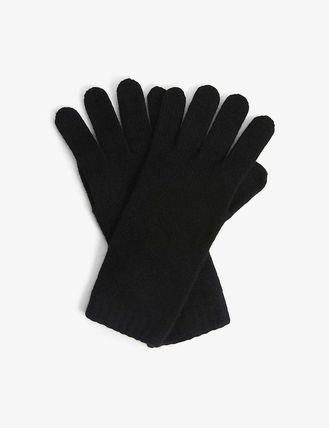 Johnstons Cashmere Plain Gloves Gloves
