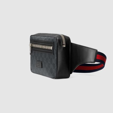 GUCCI GG Supreme Gg Black Belt Bag