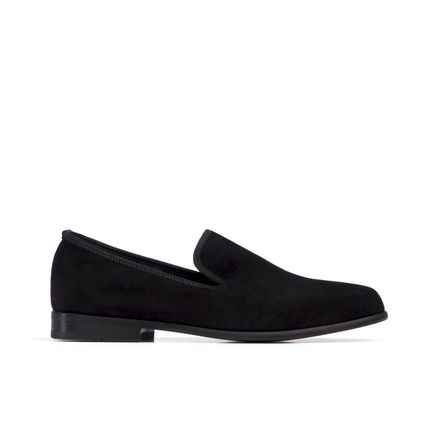 Loafers Plain Street Style Handmade Loafers & Slip-ons