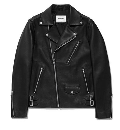 Collaboration Leather Biker Jackets