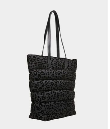 Leopard Patterns Casual Style Office Style Elegant Style