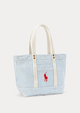Ralph Lauren Casual Style Canvas Totes