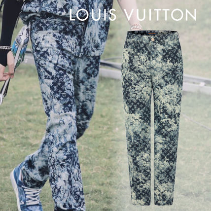 Louis Vuitton More Jeans Regular Denim Tapestry Jeans