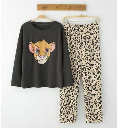 Co-ord Leopard Patterns Lounge & Sleepwear