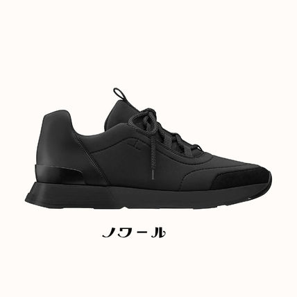 HERMES Unisex Street Style Activewear Shoes