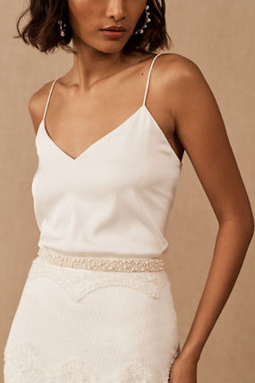 BHLDN Casual Style Blended Fabrics Party Style Elegant Style