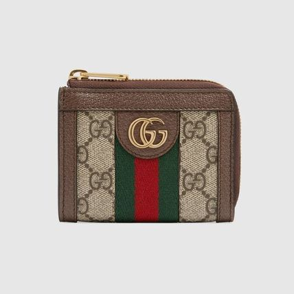 GUCCI Ophidia Ophidia Zip Around Wallet