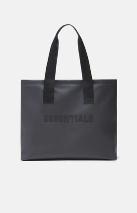 FEAR OF GOD ESSENTIALS Unisex Street Style Collaboration Logo Totes