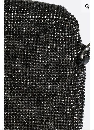 Casual Style Studded 2WAY Chain Plain Party Style