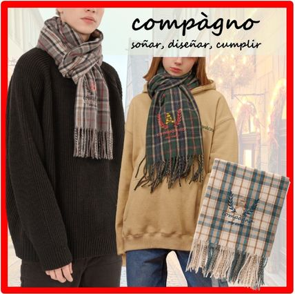 COMPAGNO Scarves Unisex Street Style Scarves
