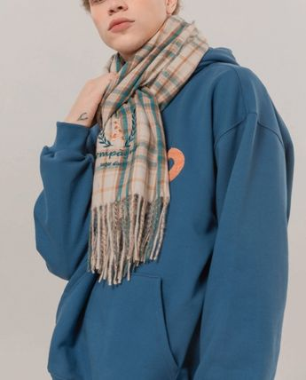COMPAGNO Scarves Unisex Street Style Scarves 3