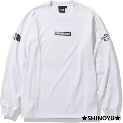 THE NORTH FACE Long Sleeve Unisex Long Sleeves Long Sleeve T-shirt Logo Outdoor 3