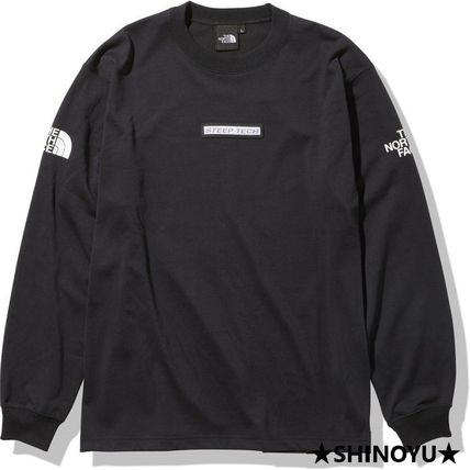 THE NORTH FACE Long Sleeve Unisex Long Sleeves Long Sleeve T-shirt Logo Outdoor 4