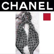 CHANEL ICON Scrunchy Casual Style Street Style Handmade Party Style