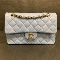 CHANEL Shoulder Bags Casual Style Blended Fabrics Street Style 2WAY Chain Plain 9