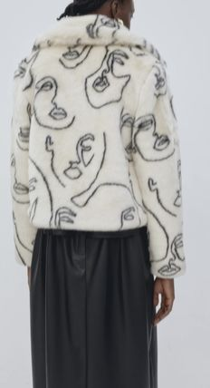 Short Casual Style Faux Fur Party Style Office Style