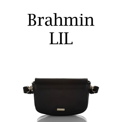 Brahmin Hip Packs Casual Style Leather Crossbody Formal Style  Hip Packs