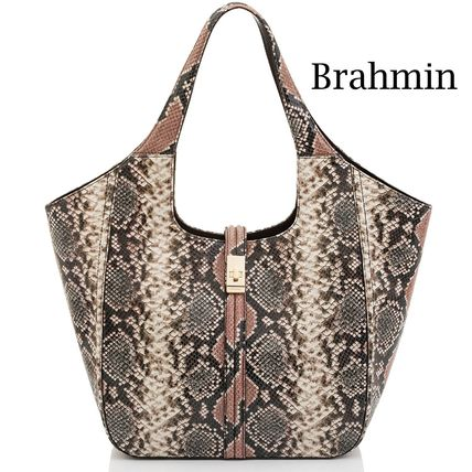 Brahmin Hip Packs Casual Style Leather Formal Style  Hip Packs