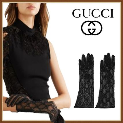 GUCCI Logo Gloves Gloves