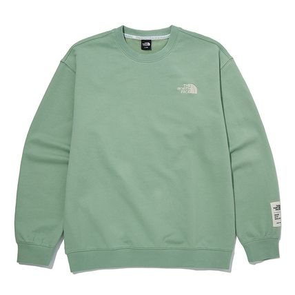 THE NORTH FACE Unisex Street Style Logo Outdoor T-Shirts
