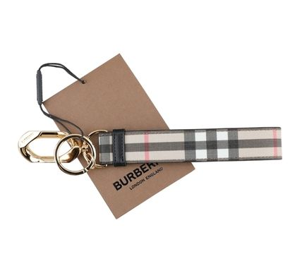 Burberry Other Plaid Patterns Unisex Keychains & Holders