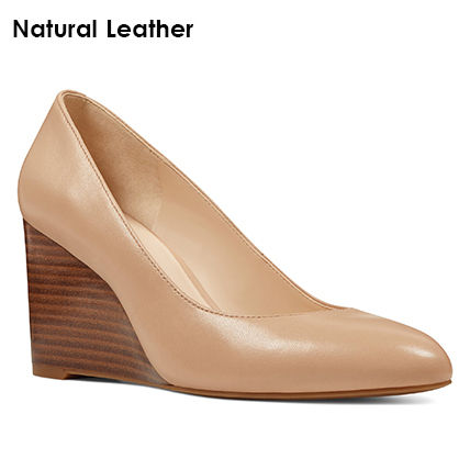 Nine West Casual Style Plain Leather Party Style Office Style