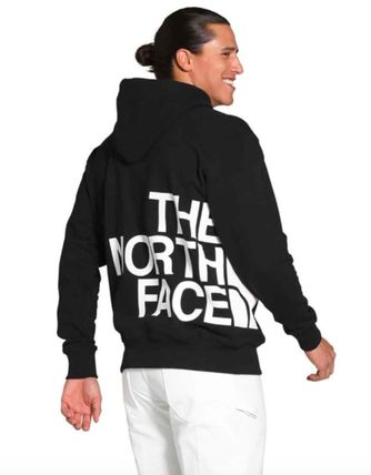 THE NORTH FACE Hoodies Pullovers Long Sleeves Plain Cotton Logo Outdoor Hoodies 5