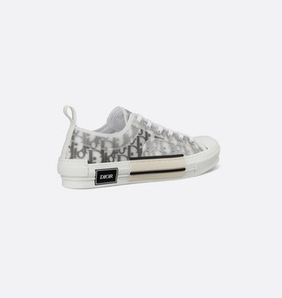 Christian Dior DIOR OBLIQUE Casual Style Unisex Street Style Logo Low-Top Sneakers