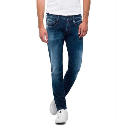 REPLAY More Jeans Denim Street Style Logo Jeans 2