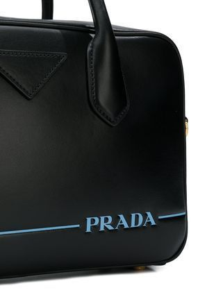 PRADA Casual Style Unisex Street Style 2WAY Leather Office Style