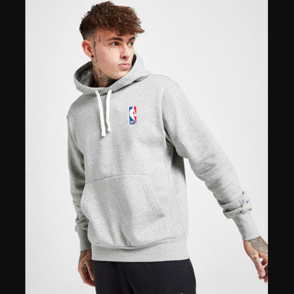 Nike Street Style Long Sleeves Logo Hoodies