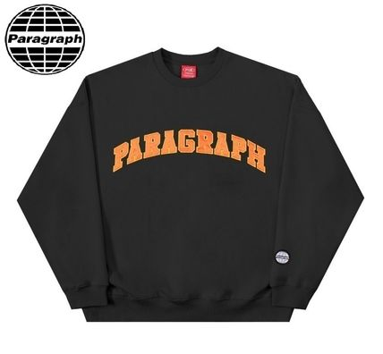 Paragraph Unisex Long Sleeves Cotton Oversized Sweatshirts