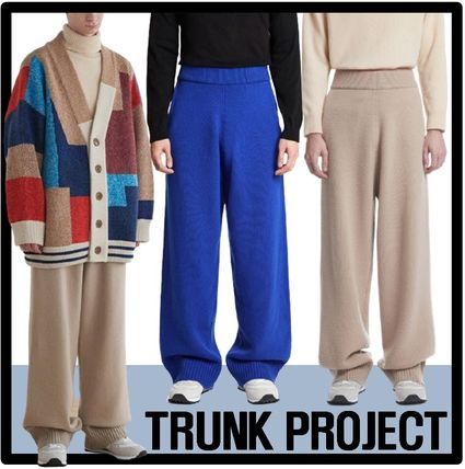TRUNK PROJECT Casual Style Unisex Street Style Pants