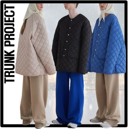 TRUNK PROJECT Casual Style Unisex Street Style Jackets