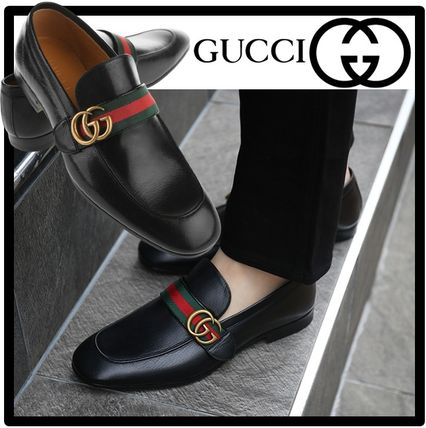 GUCCI Street Style Oxfords