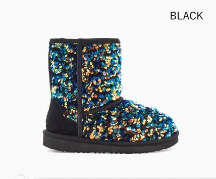UGG Australia Unisex With Jewels Glitter Kids Girl Boots