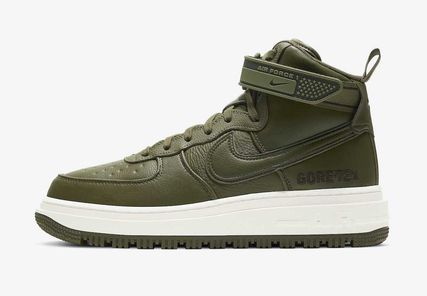 Nike AIR FORCE 1 Mountain Boots Street Style Gore-Tex Outdoor Boots