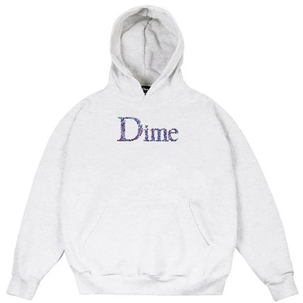 Dime Hoodies Pullovers Street Style Long Sleeves Plain Cotton Logo 2