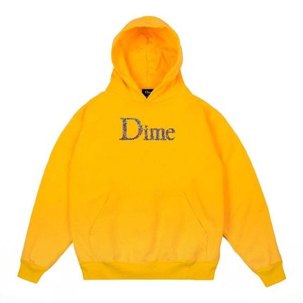 Dime Hoodies Pullovers Street Style Long Sleeves Plain Cotton Logo 4
