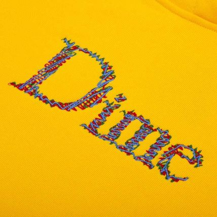 Dime Hoodies Pullovers Street Style Long Sleeves Plain Cotton Logo 5
