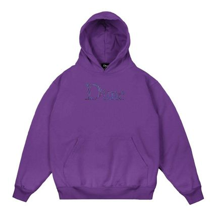 Dime Hoodies Pullovers Street Style Long Sleeves Plain Cotton Logo 6