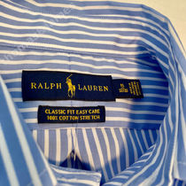POLO RALPH LAUREN Shirts Button-down Stripes Long Sleeves Cotton Surf Style Shirts 7