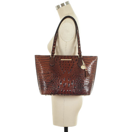 Brahmin Casual Style Leather Elegant Style Formal Style  Satchels
