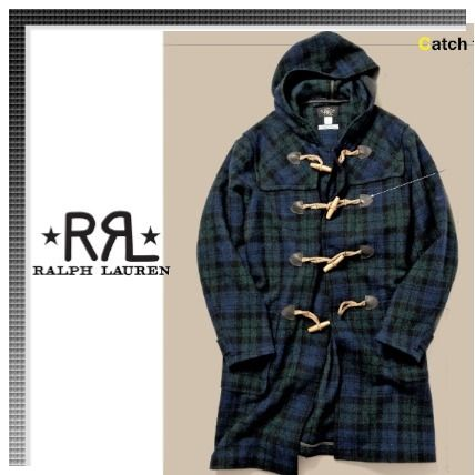 RRL Other Plaid Patterns Duffle Coats