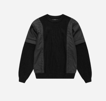 Stampd' LA Sweaters Crew Neck Pullovers Blended Fabrics Street Style 3