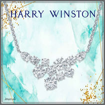 Harry Winston Costume Jewelry Casual Style Cross Party Style Platinum